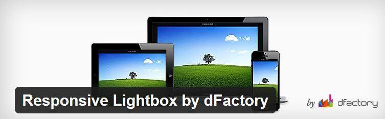 Responsive Lightbox plugin van dFactory