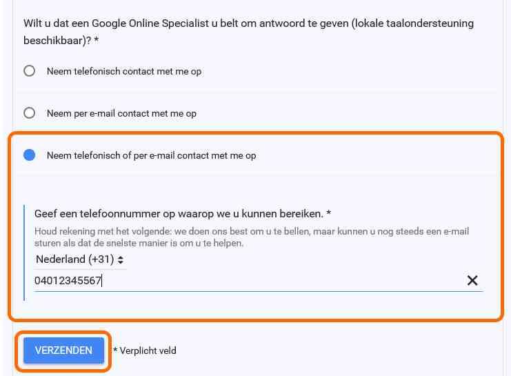 google bedrijf toegang aanvragen 3
